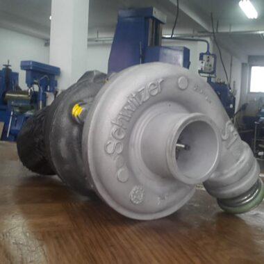 schwitzer S1 turbo servis komplet remont