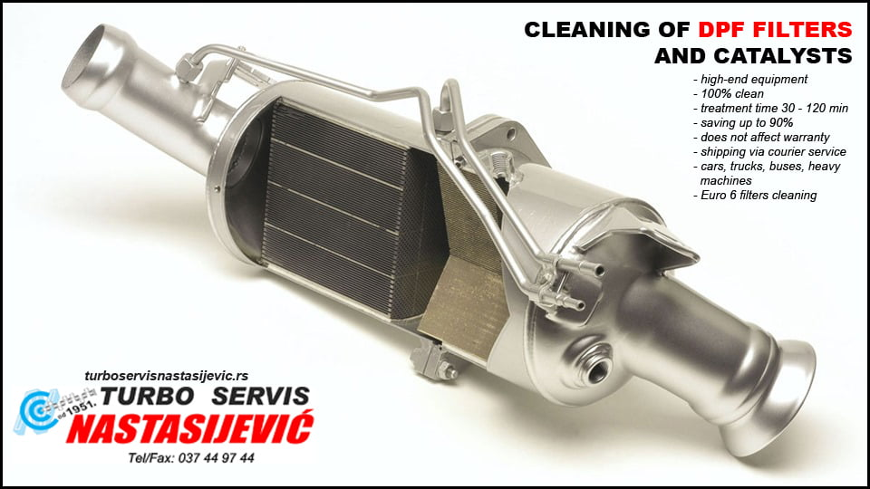 DPF filter cleaning service